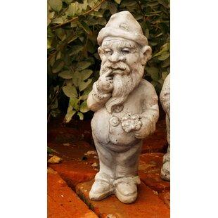 Radke Gnome Thinker Statue By Fleur De Lis Living