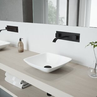 Find Hyacinth Stone Specialty Vessel Bathroom Sink with Faucet By VIGO