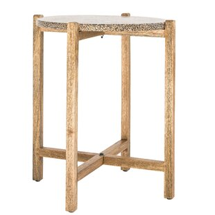 Abigael End Table by World Menagerie