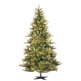 country pine 75 green slim pine artificial christmas tree with 650 pre lit clear lights with stand - Rustic Artificial Christmas Tree