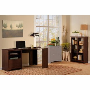 Fralick 2 Piece L-Shape Desk Office Suite
