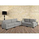 Arizonia 2 Piece Living Room Set by Latitude Run®