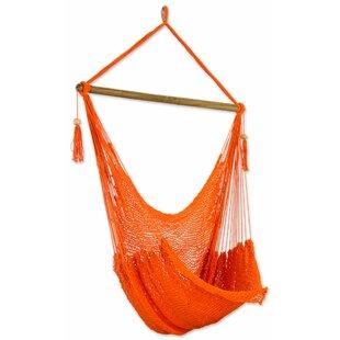 Novica Tropical Tangerine Cott..