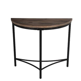 Salem Reclaimed Wood Metal Console Table