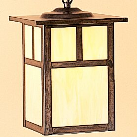 Affordable Mission 1-Light Outdoor Hanging Lantern By Arroyo Craftsman