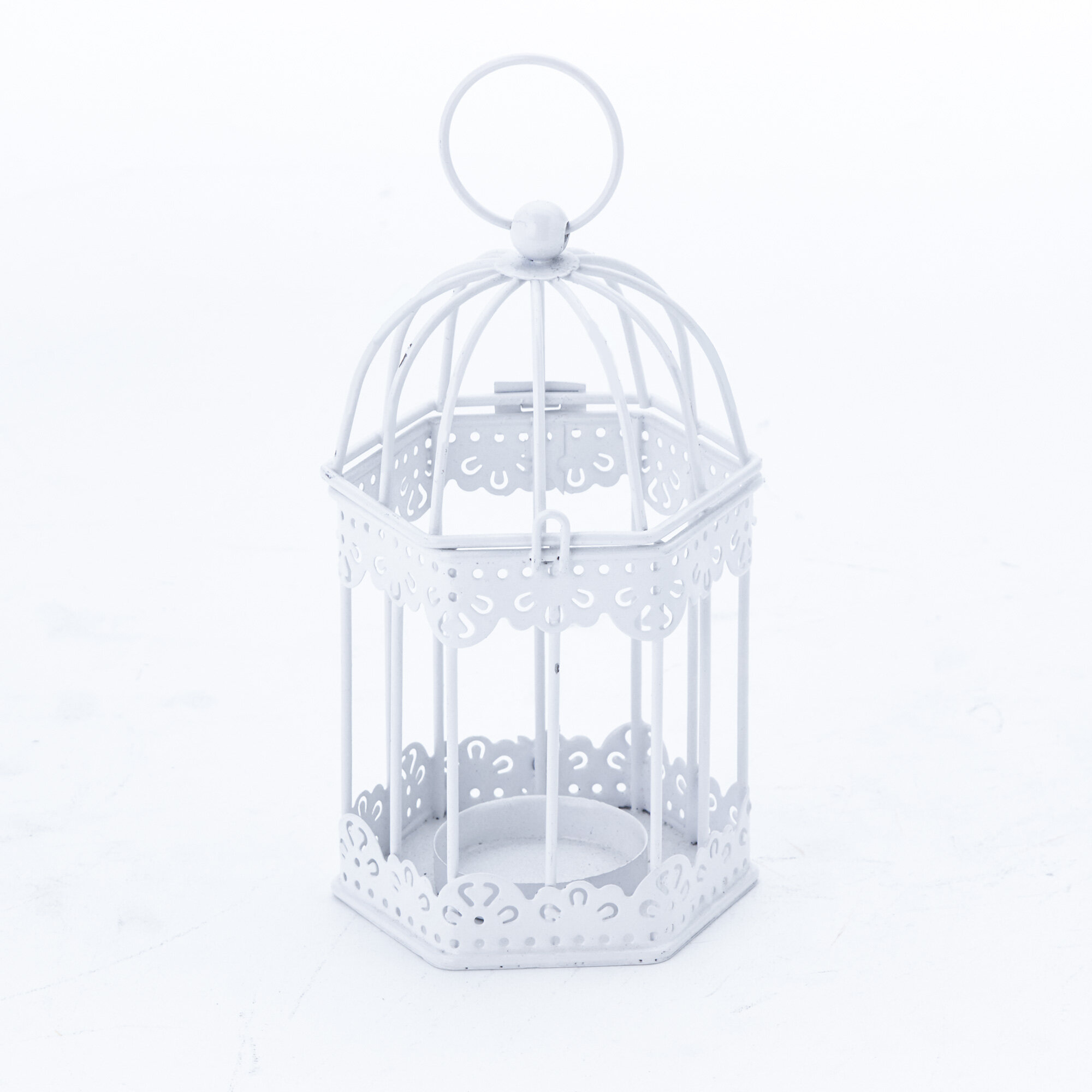 Ophelia Co 12 Piece Candle Cage Small Metal Lantern Holder Set Wayfair