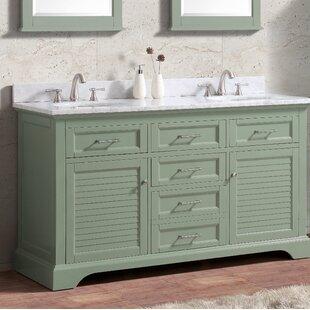 Hollinger 60 Double Bathroom Vanity Set by Highland Dunes