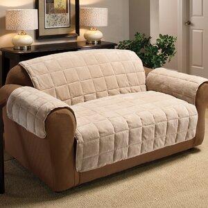 Burnham Box Cushion Loveseat Slipcover