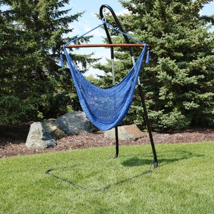 Bay Isle Home Poe Extra Large Chair Hammock with Stand