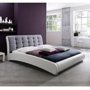 Maxon Upholstered Platform Bed by Wade Logan