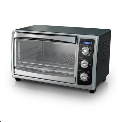 Countertop Convection Toaster Oven. By Black + Decker