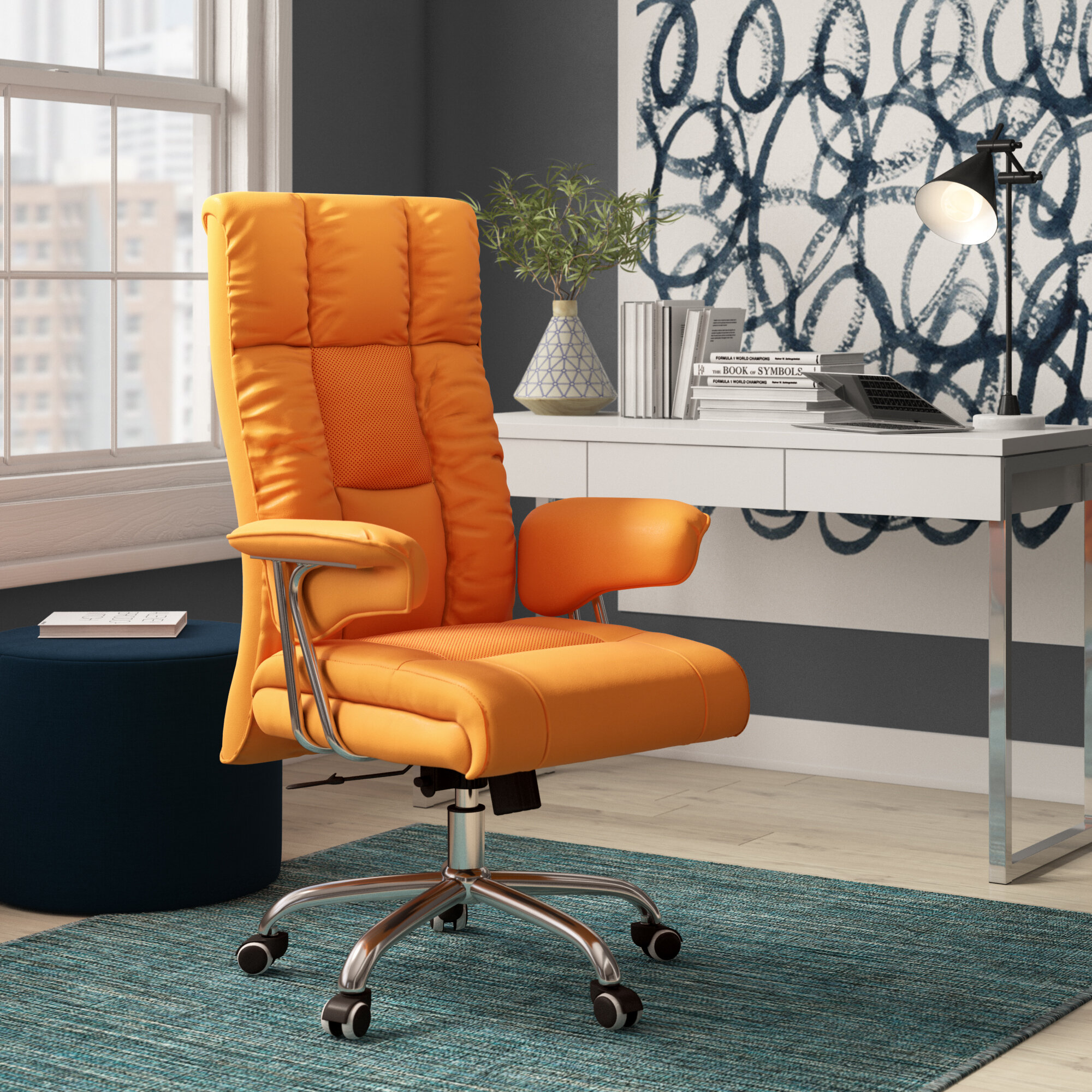 Symple Stuff Soliz Executive Chair Reviews