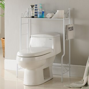 """26"""" W x 36"""" H Over the Toilet Storage by"""