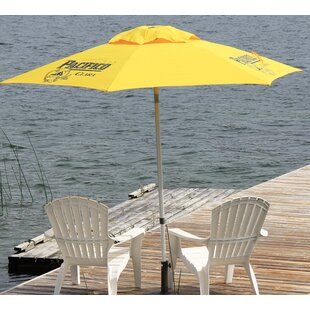 Heininger Holdings LLC Pacifico Beer Push-Up 8.5' Market Umbrella