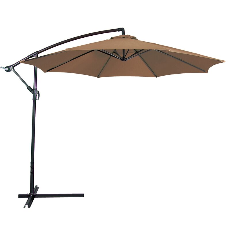 Andover Mills Bormann 10' Cantilever Umbrella & Reviews | Wayfair