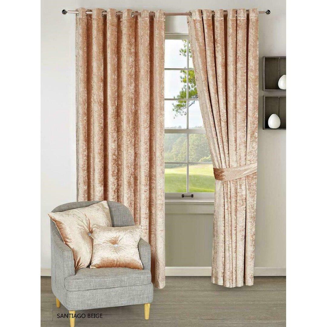 Kamille Eyelet Blackout Thermal Curtains