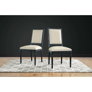 Clatterbuck Upholstered Dining Chairs (Set of 2) Charlton Home