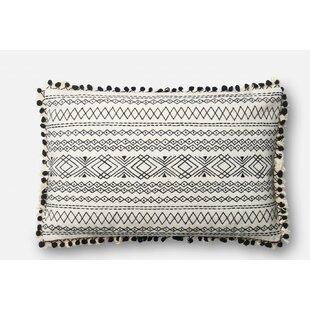 Laub Cotton Lumbar Pillow by Union Rustic