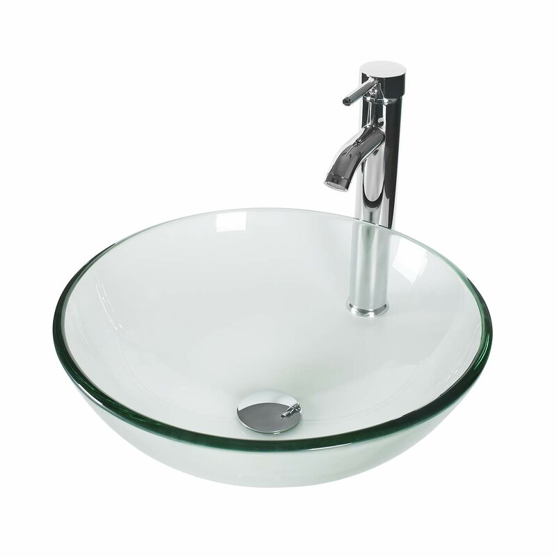 Handmade Circular Vessel Bathroom Sink
