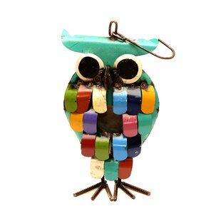 Rustic Arrow Owl 16 in x 7 in x 4 in Birdhouse