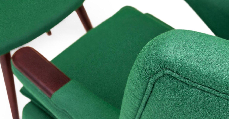 Kardiel Bear Wing back Chair and Ottoman & Reviews   Wayfair