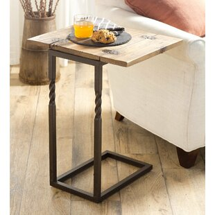 Comparison Pull Up End Table by Plow & Hearth
