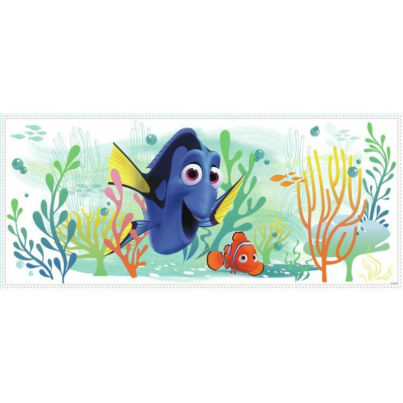 Finding Dory And Nemo Peel And Stick Giant Wall Decal Part 35