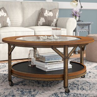 Reviews Treutlen Coffee Table by Three Posts