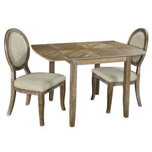 Ophelia & Co. Braun 3 Piece Drop Leaf Dining Set