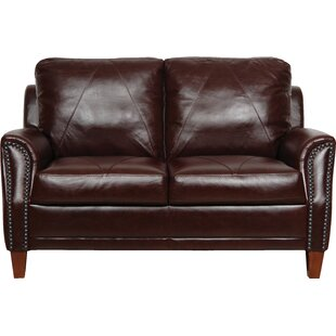 Austin Leather Loveseat