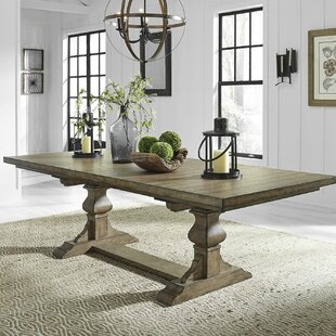 Zachariah Extendable Dining Table Alcott Hill