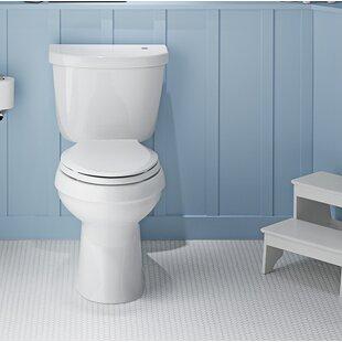 Kohler Cimarron Comfort Height 1.28 GPF Elongated Two-Piece Toilet