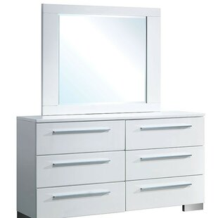 Fordland 6 Double Dresser with Mirror