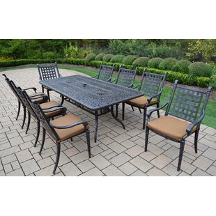 Darby Home Co Vandyne 9 Piece Patio Dinin..