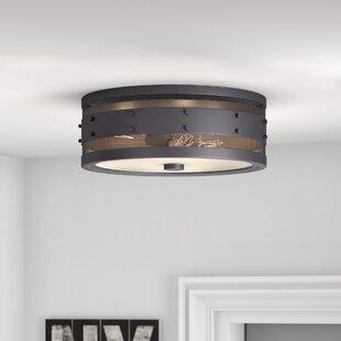 Trent Austin Design Denver 3-Light Flush Mount