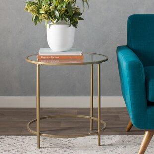 Casanova End Table Mercury Row