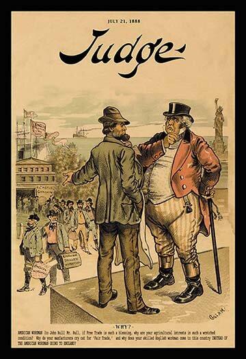 Buyenlarge Judge Magazine Why By Bernhard Gillam Vintage Advertisement Wayfair