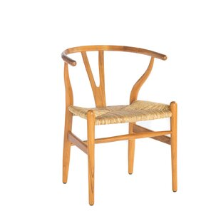 Corbel Solid Wood Dining Chair By Bay Isle Home