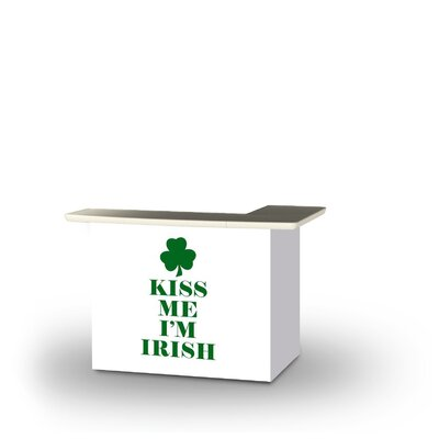 Zoeller St Patricks Day Kiss Me I'm Irish Home Bar by East Urban Home Best Choices