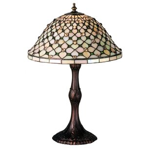 Gothic Diamond and Jewel 20.5 Table Lamp