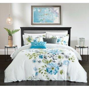 Brayden Studio Fortin 100% Cotton 5 Piece Reversible Comforter Set
