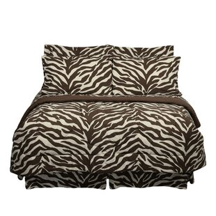 Zebra 6 Piece Comforter Set
