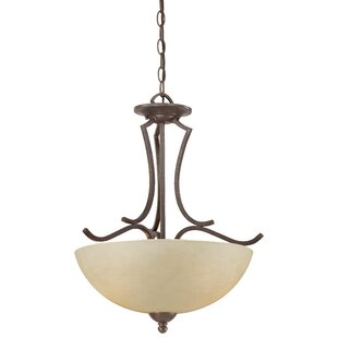 Fleur De Lis Living Alani 2-Light Bowl Pendant