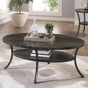 Amy Espresso Coffee Table by Gracie Oaks