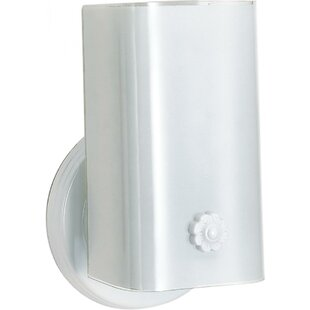 Price comparison Defranco 1-Light Outdoor Sconce By Winston Porter