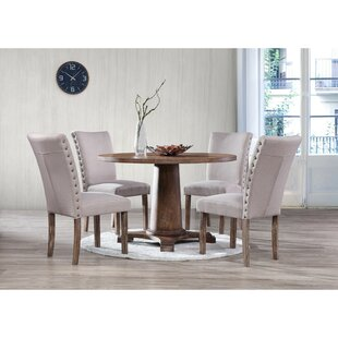 Metropole 5 Piece Dining Set Gracie Oaks