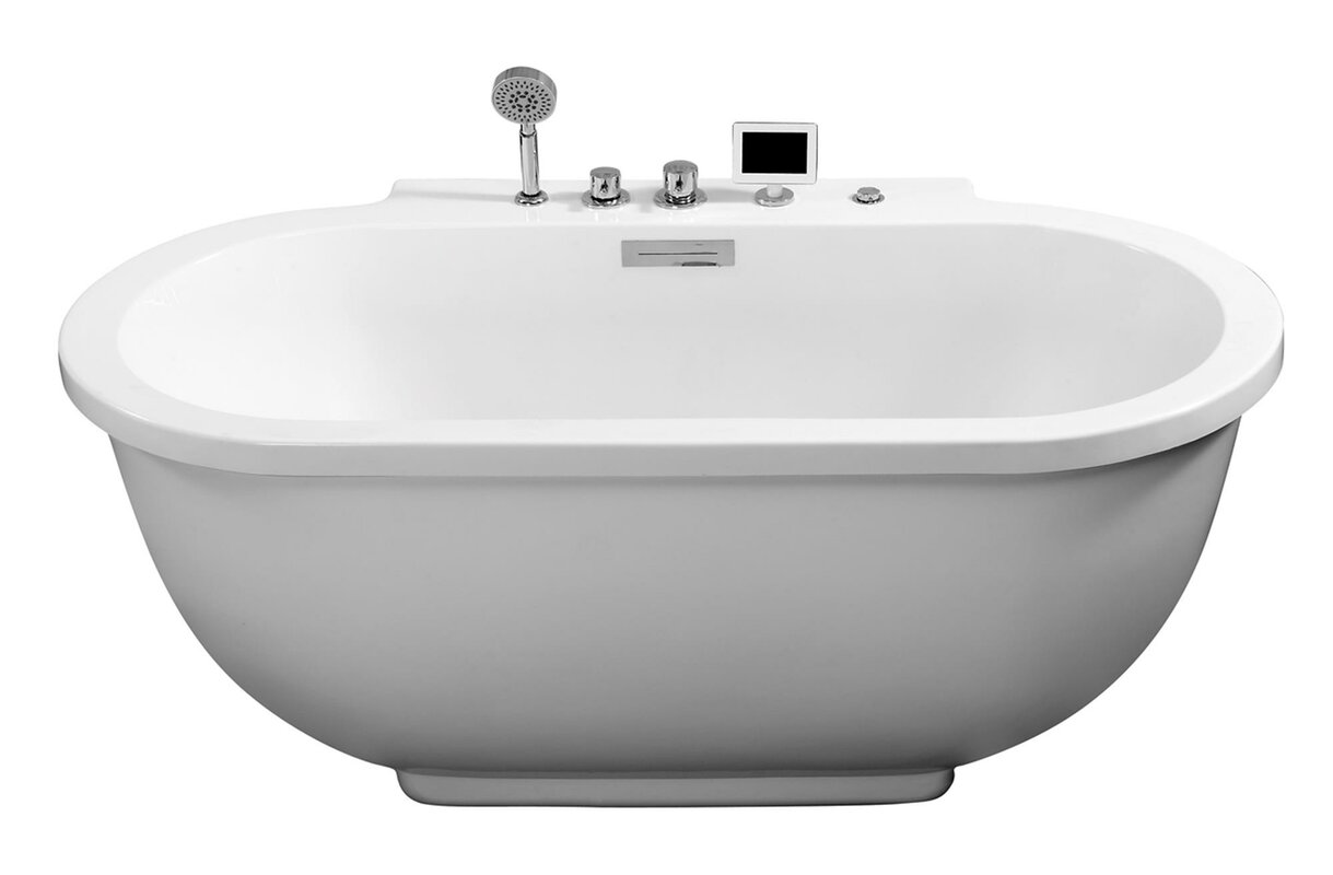 ariel bath  x  whirlpool bathtub  reviews  wayfair - defaultname