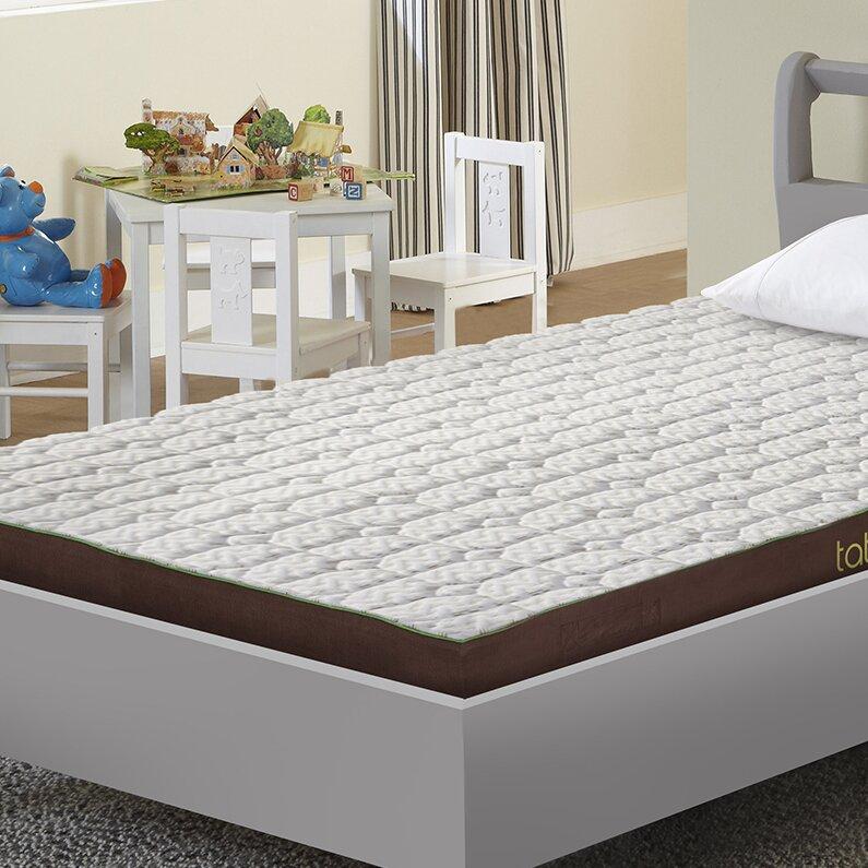 Sleep Yoga 5 Luxury Reversible Gel Memory Foam Mattress Topper