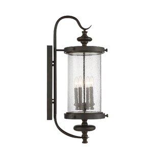 Three Posts Blythewood 4-Light Outdoor Wall Lantern