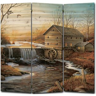 WGI-GALLERY The Old Mill 3 Panel Room Divider
